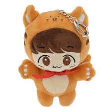 Kpop EXO Baekhyun Plush Animals Soft Doll Keychain Keyring Handmade Toy Fan Gift
