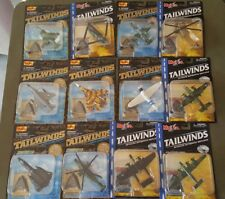 Maisto Tailwinds Diecast Metal Collection. Lot of 12. 2001. New. Original boxes