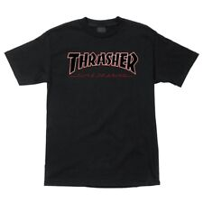 Independent x Thrasher Time To Grind Skateboard T Shirt Black Xl