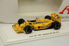 Reve Collezione 1/43 - F1 Lotus 99T Giapponese GP 1987 No.12 Senna