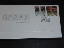 AUST 2001 FEDERAL PARLIAMENT CENT SET OF 2 ON  FDC MINT COND