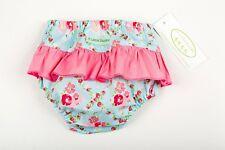 Nappy Cover/Overpants - 4 Little Ducks - Brand New - Blue Flower