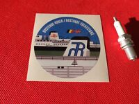 Oostende Folkestone Sealink sticker car ferries