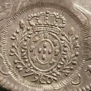 ✠ Perfect ✠ Minas Gerais Countermark ✠ 8 Reales Potosi PP 1801 Bolivia ✠ 27.08 g