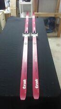 Trak 195cm Rallye Skis W/ Front 3 Pin Bindings