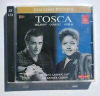 NEW Tosca Giacomo Puccini Opera Italy Import 1957 Milanov Corelli Guelfi 2 CD