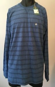 OUTDOOR LIFE MENS LONG SLEEVE Tee Size XL Blue