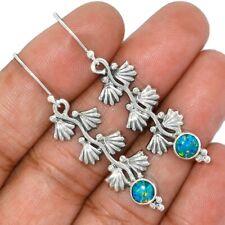 Fire Opal 925 Sterling Silver Earrings Jewelry AE91629 114L