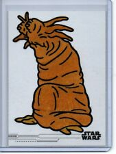 Star Wars Rise of Skywalker Jamie Richards Sketch Card