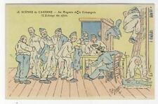 AK Scenes de Caserne, Au Magasin de la Compagnie, A. P. Jaray 1910
