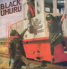 "BLACK UHURU – The Great Train Robbery (1986 REGGAE VINYL SINGLE 7"" HOLLAND)"