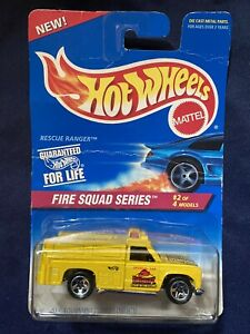 NEW! Hot Wheels FIRE SQUAD SERIES Rescue Ranger #2 of 4 Models Vintage 1995