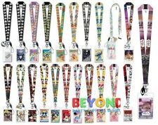 Disney Lanyard Card Holder ID Badge Amusement Park ID Holder Pin Trading Straps