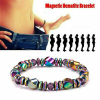 Magnetic Weight Loss Bracelet Hematite Stone Beads Men Women Health Care Jewelry