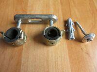 Gewindeanschluss M8//10 48-52mm BIS Bifix G2 BUP Schraubrohrschelle mit Einlage