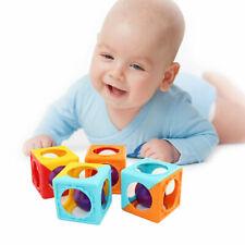 4 Pcs Hollow Baby Handbell Smart Developmental Toys Bed Bells Rattle Toy V340 Us