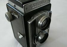 Welta Weltaflex 12/0661 6X6 120 Film Medium Format TLR Camera Meritar Lens Case