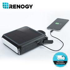 Open Box Renogy Solar Portable Bluetooth Speaker 5000mAh Power Bank USB Charger