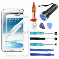 Samsung Galaxy Note 2 White Screen Glass Lens Replacement Tool Kit UV Light/Glue