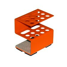 "Metal stand for pens and pencils ""Bright orange"""