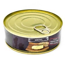 Emergency ration army survival food canned Gouda cheese 200g can