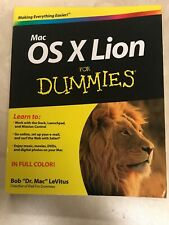 Mac OS X Lion For Dummies by LeVitus, Bob