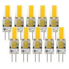 10pcs G4 Bi-Pin 1505 COB LED Light Bulb RV/Boat Crystal Lamp 12-24V Warm White