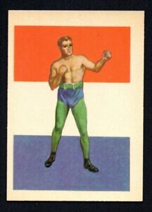 JIM JEFFRIES 1956 ADVENTURE GUM INC BOXING #79 NEARMINT SHARP CORNERS NO CREASES