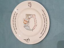 Lovely Peter Rabbit by Wedgewood Vintage 1993 Side Plate/Childs Plate-GC