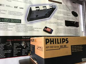Rare New Sealed Philips DCC 900 NOS Digital Compact Cassette Player +restoration