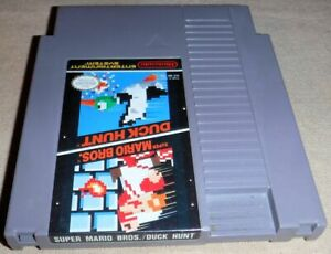 NES SUPER MARIO BROS / DUCK HUNT Game only Very Good Condition n4