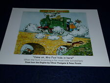 """Ivor the Engine Postcard """"MRS FOX! hide in here (New) Foxhunting Welsh"""