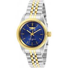 Invicta Women's Watch Specialty Quartz Blue Dial Two Tone Bracelet 29403