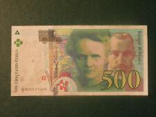 France Banknote 500 Francs 1994 !!!!!!!!
