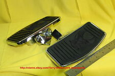 Motorcycle Footboards Floor Classic Chopper Harley Shadow l 7in*3.5in Chromed