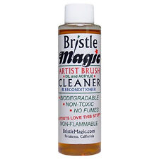 Bristle Magic Artists Brush Cleaner Oil Acrylic & Watercolour Paint Remover 250ml