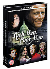 Rich Man,Poor Man - Book 2 - Complete (DVD,2007,6-Disc Set,Box Set),UK R2,NEW !!