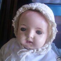 Vintage Composition Effanbee Girl Doll LOOK