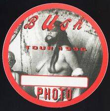 BUSH 1996 Razorblade Suitcase Concert Tour Backstage Pass!!! Authentic OTTO #2