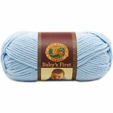 Lion Brand Yarn 925-106 Baby's First Yarn, Splish Splash, Blue Yarn