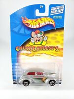 Hot Wheels 2001 Chuck E Cheese's Fat Fendered '40 w/ Protector Pak NEW NOC