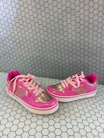 HEELYS Pink Synthetic Lace Up Low Top Skate Shoes Girls Size 6
