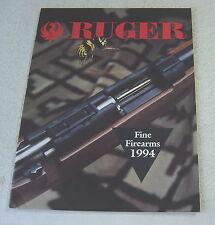 RUGER FIREARMS 1994 gun catalog