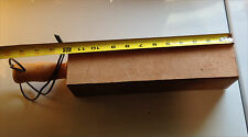 """wood handle KING CLUB Leather strop by MarkusB 3""""x3""""x16""""  no compound new"""