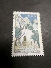 FRANCE 2002, timbre 3496 CHAPELLE SAINT-SER, oblitéré, VF used