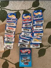 21 limited edition Hot Wheels 1995-2000