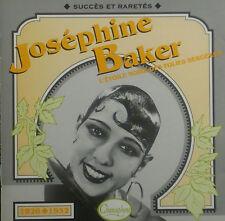 CD JOSEPHINE BAKER - 1926-1932, l'etoile noire des folies bergeres