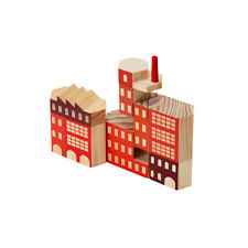 NEW Areaware blockitecture factory building blocks by Until