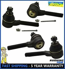 Set of 2 Pairs Front Inner & Outer Tie Rod End For 70-83 Chrysler Cordoba Dodge