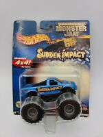 Hot Wheels Monster Jam Sudden Impact 4x4 Action Truck 2003 FREE SHIPPING